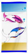 2 Little Fish Beach Towel