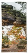 Little Pravcice Gate - Famous Natural Sandstone Arch Beach Towel
