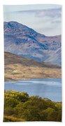 Loch Arklet And The Arrochar Alps Beach Towel
