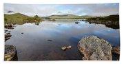 Loch Nah Achlaise Beach Towel