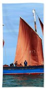 Looe Lugger 'our Daddy' Beach Towel