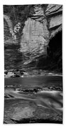 Looking Glass Falls Beach Towel