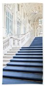 Luxury Interior In Palazzo Madama, Turin, Italy Beach Towel