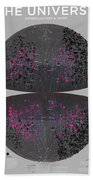 Map Of The Entire Universe Superclusters And Voids Beach Towel