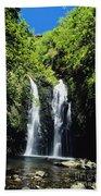 Maui Waterfall Beach Towel