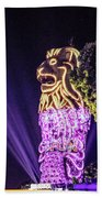 Merlion Beach Towel