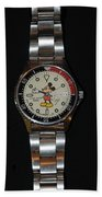 Mickey Mouse Watch Beach Sheet
