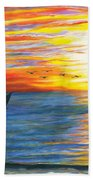 Morning Catch Beach Towel