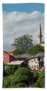 Mostar, Bosnia And Herzegovina Beach Towel