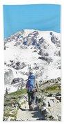 Mount Rainier National Park Beach Towel