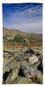 Mount Washington - White Mountains New Hampshire Usa Beach Sheet