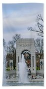 National World War II Memorial Beach Towel