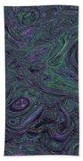 Neural Abstraction #1 Beach Towel