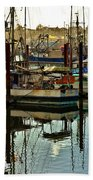 Newport Marina Beach Towel