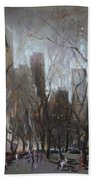 Nyc Central Park Beach Towel