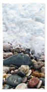 Ocean Stones Beach Towel by Stelios Kleanthous