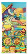 One Day On The Lake Beach Towel