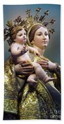 Our Lady Of Graces Beach Towel