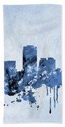 Phoenix Skyline-blue Beach Towel