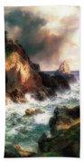 Point Lobos, Monterey, California Beach Towel