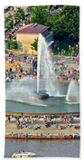 Point State Park Beach Towel