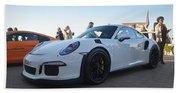 Porsche 911 Gt3rs Beach Towel