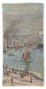 Port Of Le Havre Beach Towel