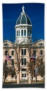 Presidio County Courthouse Beach Towel