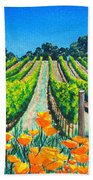 Presidio Vineyard Beach Towel