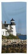 Prospect Harbor Lighthouse Beach Towel