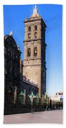 Puebla Mexico 4 Beach Towel