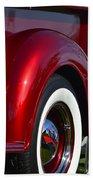 Red Chevy Pickup Fender Beach Towel