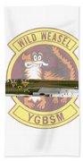Republic F-105g Thunderchief 561tfs Beach Towel