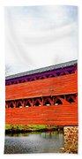 Sachs Bridge - Gettysburg Beach Towel