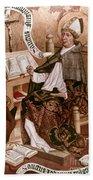 Saint Augustine (354-430) Beach Towel