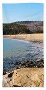 Sand Beach Acadia National Park Beach Towel