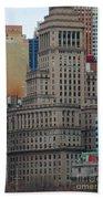 Skyline Of Manhattan - New York City Beach Towel