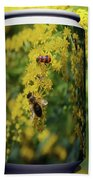 Small Insect Beach Towel