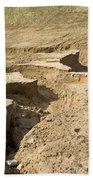 Soil Erosion Beach Towel