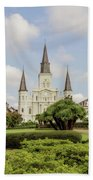St. Louis Cathedral - Hdr Beach Towel