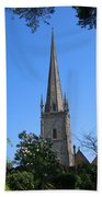 St Mary The Virgin Ross-on-wye Beach Towel