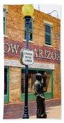 Standing On The Corner - Winslow Arizona Beach Towel