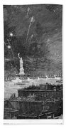 Statue Of Liberty, 1886 Beach Towel