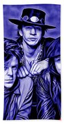 Stevie Ray Vaughan And Double Trouble Collection Beach Towel