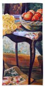 Still Life With Roses Beach Towel