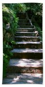 Stone Steps  Beach Towel