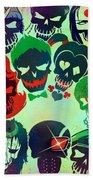 Suicide Squad 2016 Beach Towel