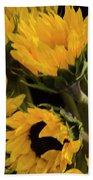 Sunflower Power Beach Towel