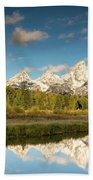 Sunrise In Wyoming Beach Towel