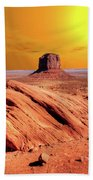Sunrise Monument Valley Beach Towel